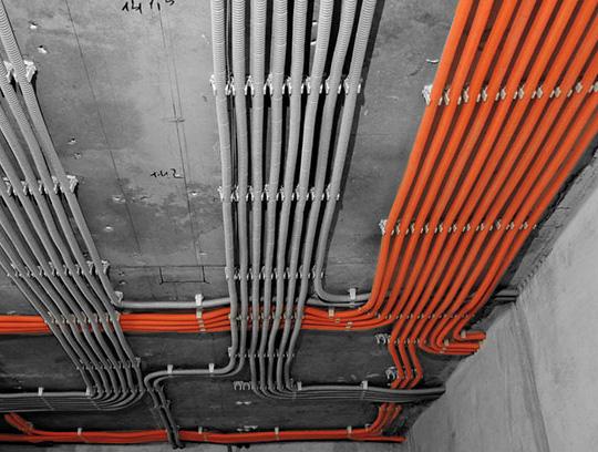 Монтаж электро кабеля бригада большие объемы Киев, Ирпень, Буча, Киевская область