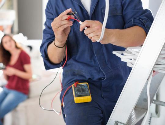 Бригада Киев, подготовительные работы для электро монтажа. Ирпень, Буча услуги