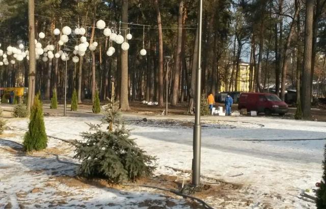 Монтаж опор уличного освещения, услуги бригада электриков Киев, Ирпень, Буча